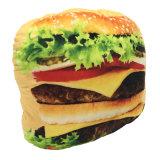 [3د] طباعة شطيرة لحميّة قطيفة وسادة/قطيفة طعام لعبة [كشيون/] شطيرة لحميّة قطيفة وسادة