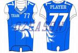 Soem-professionelles Breathable Ineinander greifen-amerikanischer Fußball-Training Jersey (AF008)