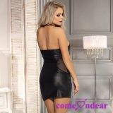 Иметь фабрику в штоке плюс повелительница Кожа Сексуальный Одевать черноты размера сексуальная
