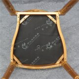Yc-D231 금 결혼식 사건을%s 알루미늄 프레임 둥근 뒤 대중음식점 의자