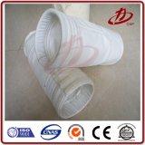 Bolso de filtro industrial del polvo del fieltro de la aguja del filamento