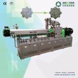 El PLC controla la máquina de reciclaje plástica del animal doméstico inútil
