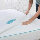 通気性の100%匹の防水ベッドのバグまたは塵のダニか液体証拠によってファスナーを絞めるマットレスのEncasement
