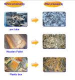 Doppelter Welle-Papier-Pappabfall-Plastikreißwolf-Maschine