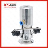 Válvula automática estéril del muestreo de la asepsia del acero inoxidable SS316 Dn15