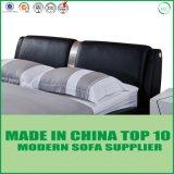 Кровать кожи дома отдыха фабрики Foshan