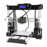 stampante di costruzione di Fdm 3D di precisione di formato 0.1mm di 220X220X240mm sulla vendita