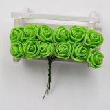 Rosa de PE de espuma de flores artificiales para la boda la decoración del Partido de inicio