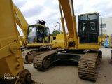 Verwendetes KOMATSU 22 Tonnen-Gleisketten-Exkavator PC220-7 für Aufbau