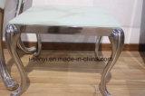 現代ステンレス鋼ベースソファー表の側面表の端表のコンソールテーブルの居間の家具