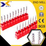2/3/4 флейты станков с ЧПУ Metal-Cutting алюминиевых конечных продуктов