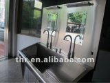 Hospital Medical Control de pie de acero inoxidable Scrub Sink (THR-SS029)
