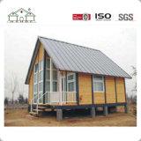 El Ce, ISO certifica casas de madera prefabricadas del bajo costo/el chalet de acero ligero