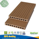 L'Europe Amériques la plupart de plancher en plastique en bois du Decking du composé de produits rentables populaires/WPC/WPC