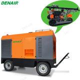 Compressore d'aria guidato diesel trainabile della vite di 950 Cfm per la perforatrice