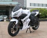 قوة كبيرة كهربائيّة يتسابق درّاجة ناريّة أفق