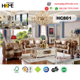 Estilo real de madera muebles antiguos sillones para Living (HC801)
