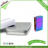 Лихтер дуги металла лихтера USB оптовой таможни куря более светлый электронный