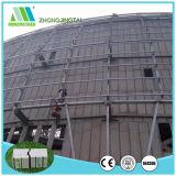 Nuova scheda leggera della parete di panino del cemento della fibra dell'isolamento termico di Zjt