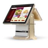 """registratore di cassa capacitivo Android dello schermo di tocco di 15 """" +9.7 """" Icp-Ea11sj doppio per il sistema/supermercato/ristorante/al minuto di posizione"""