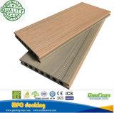 Chaud-Vente de haute résistance imperméable à l'eau enclenchant le prix concurrentiel de plancher de décoration de WPC