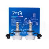 최고 밝은 G7 LED 헤드라이트 8000lm 60W 600K 6500K 자동 LED 헤드라이트 H4