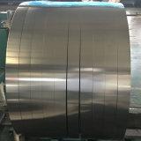 AISI 410 2bはケーブルワイヤーのための金属0.6mmのヘアライン終わりのステンレス鋼のシートによって薄板にされた鋼鉄を冷間圧延した
