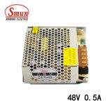 Smun s-25-48 0.5A de Levering van de Macht van de Omschakeling van de Output 48VDC