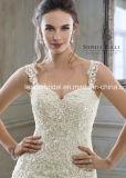 с шнурка платьев плеча платья венчания 2018 A1234 Tulle Bridal Cream