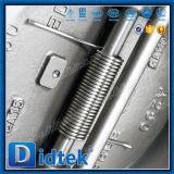 L'acciaio inossidabile CF8m di Didtek l'api 6D si raddoppia valvola di ritenuta della cialda del piatto