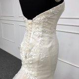 Платье свадебного банкета просто Mermaid мантии Tulle Bridal Backless