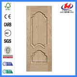 Здание материала HDF MDF из шпона дерева двери кожи (JHK пресс-M02)