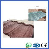 Los materiales de construcción metálica recubierta de piedra Teja (Bond)