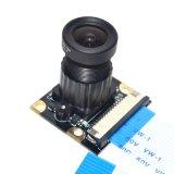 ラズベリーPi 3のカメラのモデル焦点調節可能な夜間視界5 MPのカメラのモジュールサポートラズベリーPi 2/3 B +自由に50 FFC