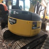 machinerie de construction de 7 tonne utilisé Komatsu mini-excavateur PC78US