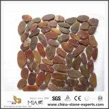 Pavimento di mosaico allentato poco costoso del ciottolo con colore Mixed
