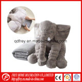 Ce Elefante Peluche Cojín de juguete con una manta