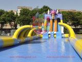 As3533 het Opblaasbare Pretpark van het Water van Park van het Water/50m Lange