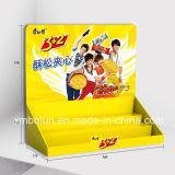 Le carton de fournisseur de la Chine cogne le contre- présentoir pour le commerce de détail utilisé