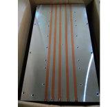 Dissipador de calor do perfil de alumínio extrudido com tubo de calor.