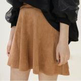 新しいカスタム方法スエードの短いスカート