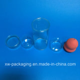 Caixa plástica personalizada nova do cilindro para produtos cosméticos