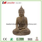Estátua de Buda de Polystone para presente para decoração e artesanato, OEM são bem-vindos