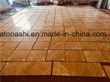 صقل طبيعيّة/الصين رخام صفراء لأنّ أرضيّة/جدار [كلدّينغ]