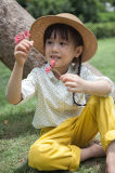 Vêtements de filles de coton de mode de Phoebee pour le printemps/automne