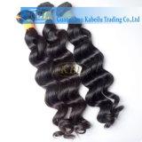 Индийские человеческие волосы, освобождают выдвижение волос волны