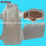 L'anion de soins de santé des femmes de serviettes sanitaires/coton de qualité supérieure des serviettes hygiéniques/sec de Dame de la surface des serviettes hygiéniques de maillage