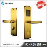 Placa RF sem chave electrónica de luxo fechadura de porta