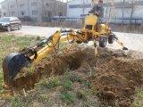 Hecho en excavador de la granja de China el mini (HQLW-18) para la venta