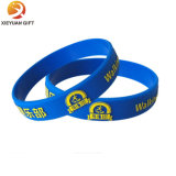Wristbands do silicone da amostra livre do costume